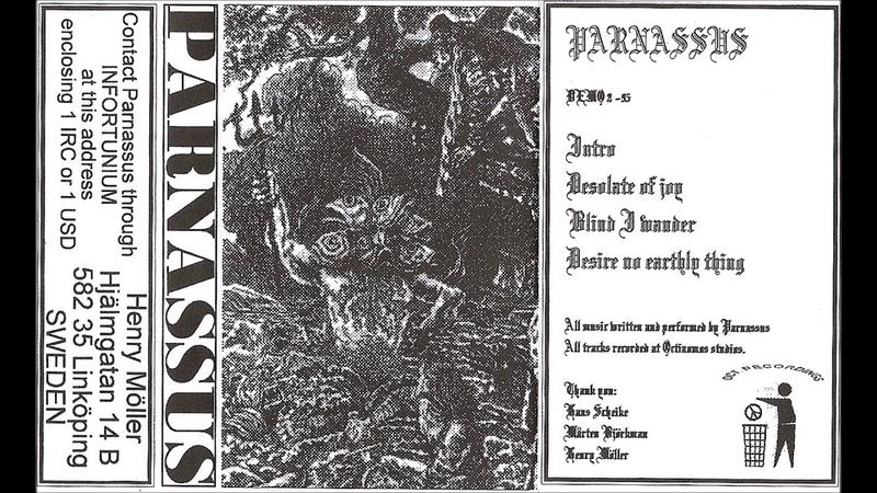 Parnassus [SWE] [Symphonic Raw Black] 1995 - Demo 2 -95 (Full Demo)