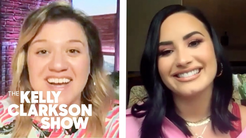 Demi Lovato Fangirls Over Kelly Clarkson You Are Fearless And Courageous And Real As F—