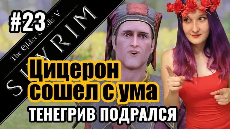 Темное Братство: разборки с Цицероном, кто такой Гурман, Тенегрив — TES Skyrim | Стрим Скайрим 23