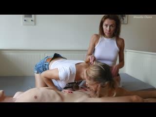 veronika charm RU 129 Step Sisters Helps Cum This Lucky Guy! Veronika Charm  Mia Bandini_1080p
