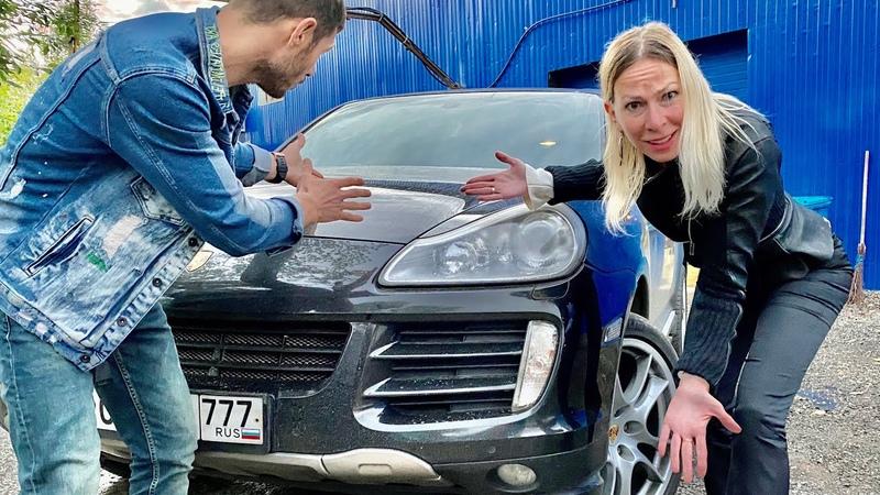 Купила старый Porsche Cayenne GTS с японским V8 300 сил Продала Лексус и Поло