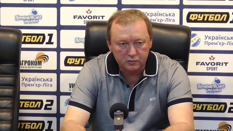 Прес конференція Володимира Шарана
