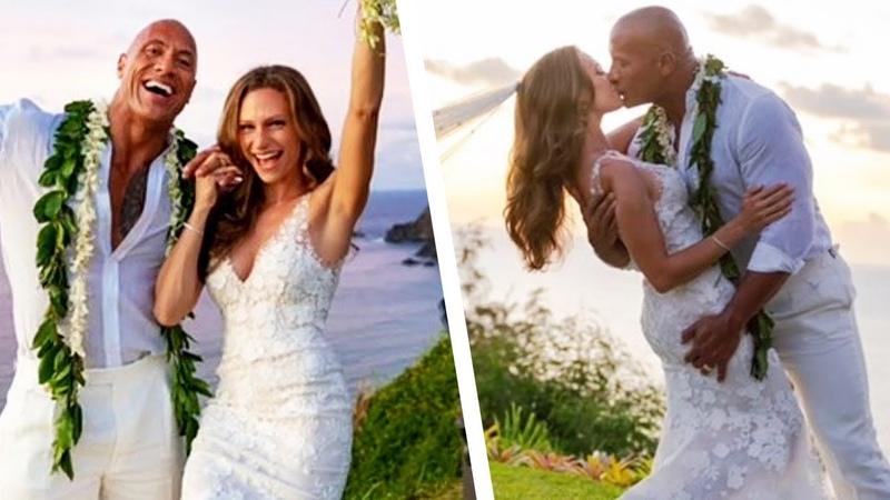 Dwayne Johnson Is MARRIED! See Inside His Romantic Hawaiian Wedding