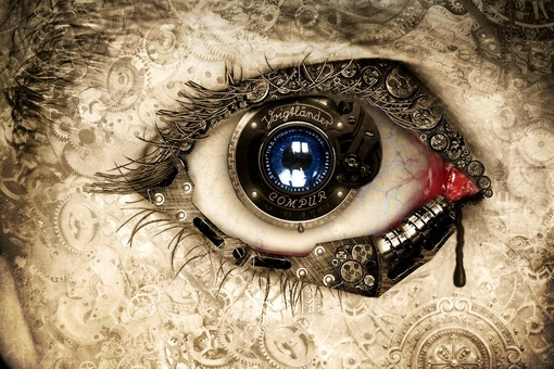 Обои Глаз На Рабочий
