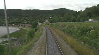 Cab Ride Norway Trondheim - Bod (Summer) Nordland Line