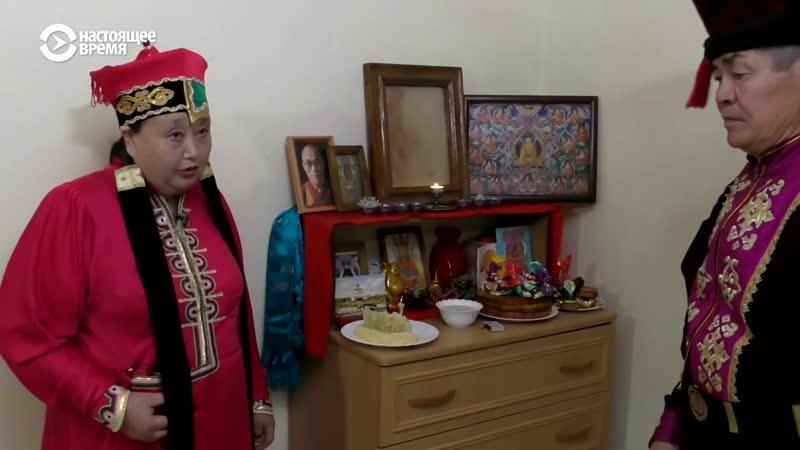 Праздник в калмыцких степях. Зулын. Комсомольск. Калмыкия. Буддизм. Неизвестная Россия