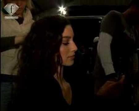 Fashiontv | FTV.com - CYNTHIA STEFFE BACKSTAGE NY FW 06/07 WOMEN