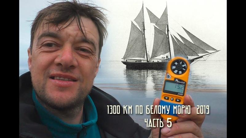 1300 км по Белому морю (ИНЦЫ - Нижняя Золотица - Куя). Часть 5.