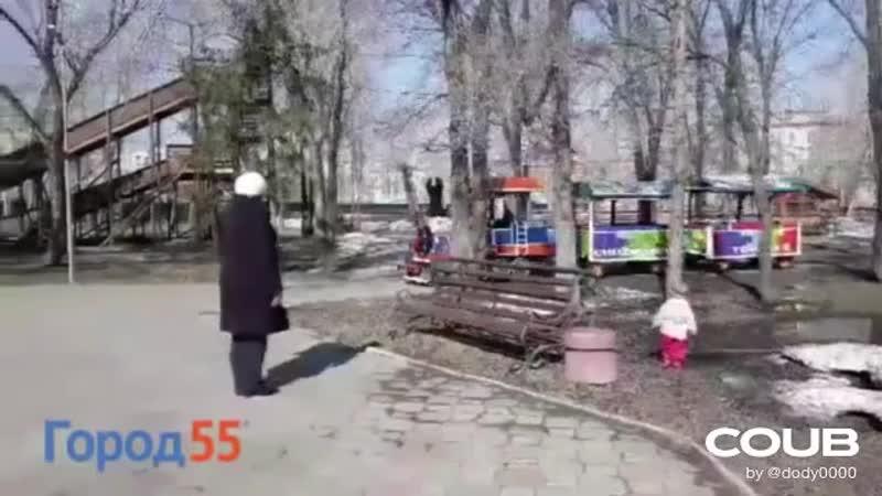 Детский паравозик под rammstein children's train with rammstein