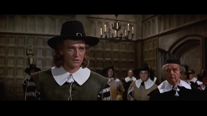 Кромвель разговаривает с парламентом