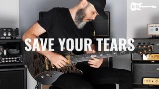 The Weeknd - Save Your Tears - Electric Guitar Cover by Kfir Ochaion