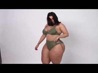 Allhailkingsteph two pieces model fashion nova try on pawgy curvy.
