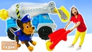 Мультики для детей с игрушками - Щенячий патруль и Человек паук в детском садике Капуки Кануки
