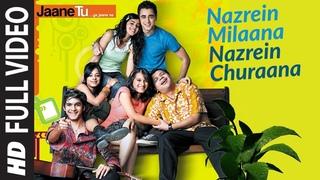 Full Video: Nazrein Milaana Nazrein Churaana | Jaane Tu Ya Jaane Na | Imran Khan , Genelia D'Souza