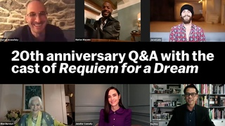 Requiem for a Dream  Cast and crew reunited twenty years later   MoMA FILM