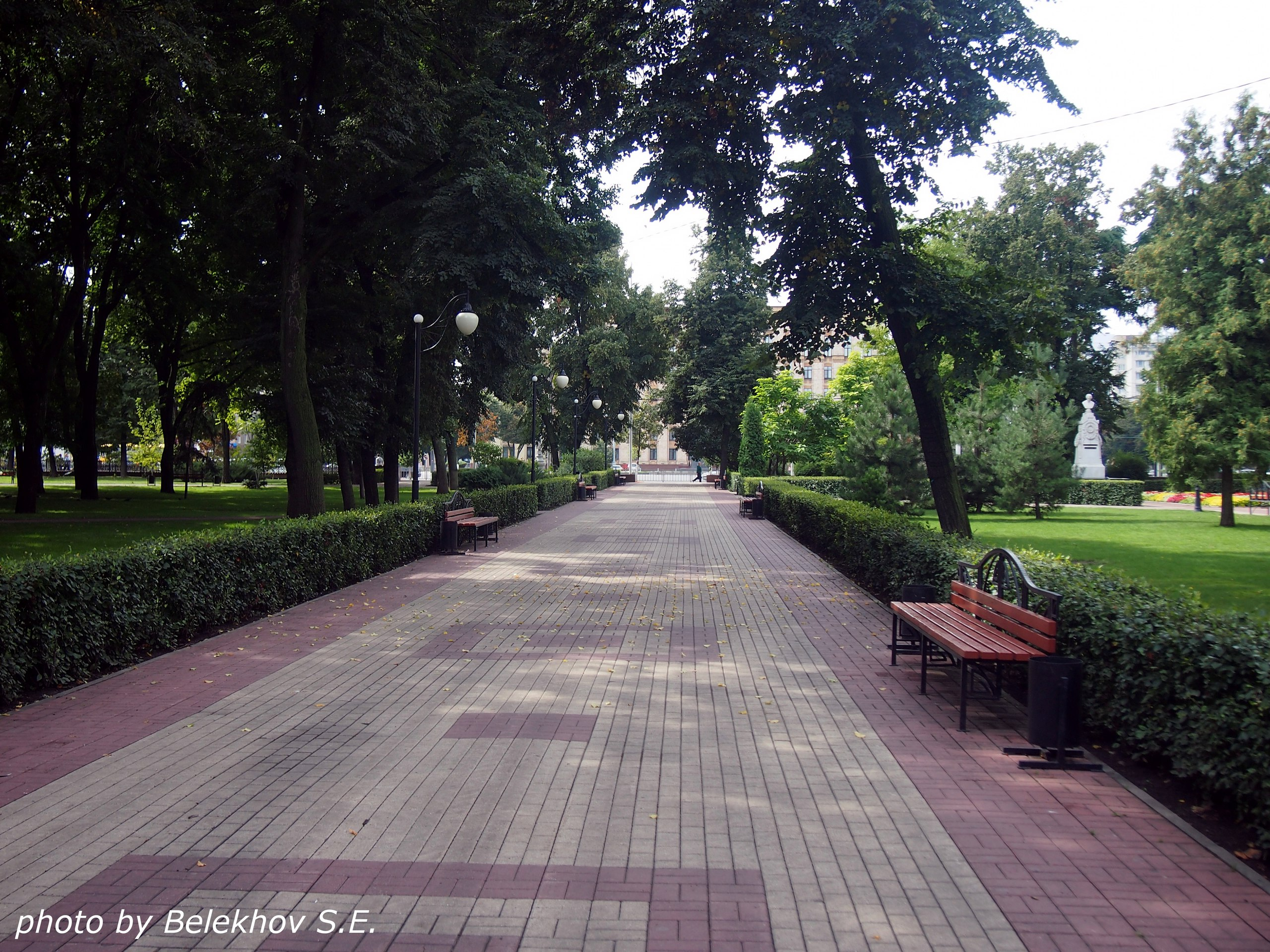Воронеж, Кольцовский сквер