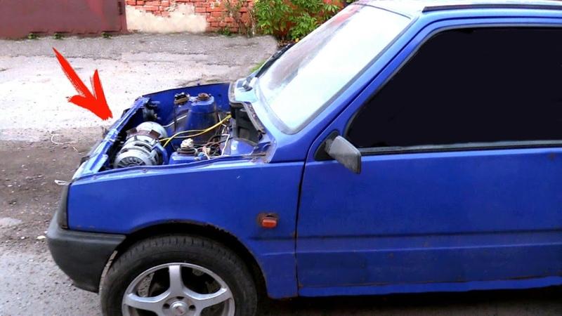 Бюджетный электромобиль с новым двигателем от БЕЛАЗА