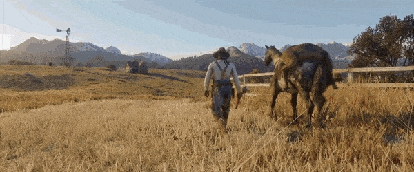 Red Dead Redemption 2s confirmed driveable vehicle - Create, Discover and Share Awesome GIFs on Gfycat