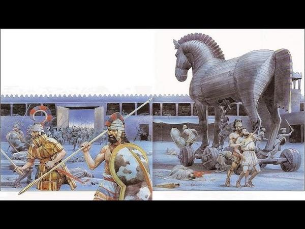 Древние открытия Троянская война s3e1