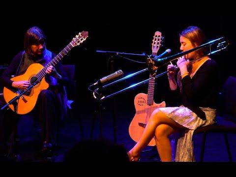Rita Payés i Elisabeth Roma Porque llorax blanca niña LIVE in Vincennes Paris