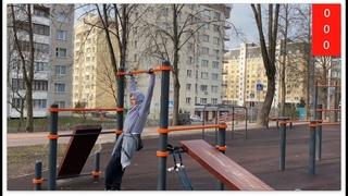 CHALLENGE muscle-ups - dips on the bar - pull-up/Выходы силой-отжимания от перекладины -подтягивания