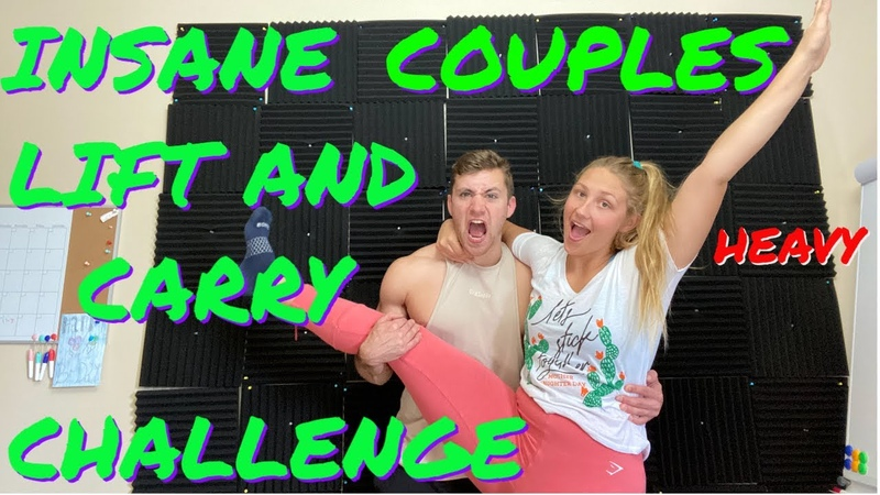 INSANE COUPLES LIFT AND CARRY CHALLENGE WITH GIRLFRIEND
