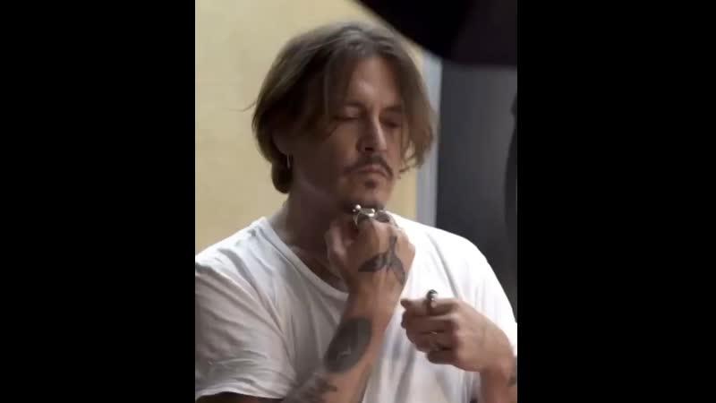 Johnny Depp 👑🖤