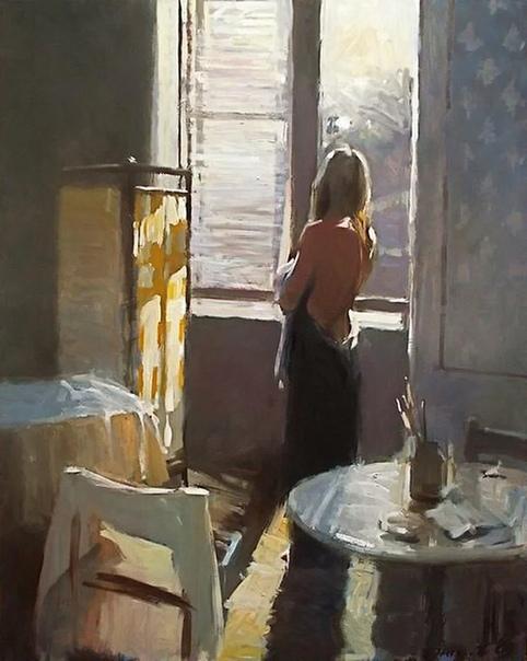 Живописец Дэвид Фаррант родился в 1938 году в столице Великобритании.