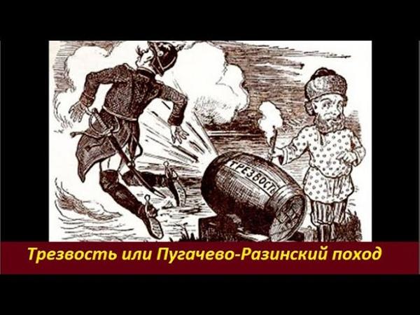 Трезвость или Пугачево Разинский поход № 2032