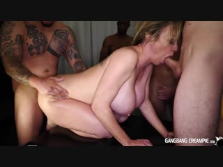 Dee Williams (GangBang) CreamPie