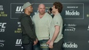 UFC 235 Robbie Lawler vs. Ben Askren Media Day Staredown - MMA Fighting