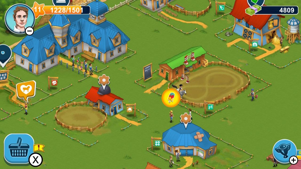 Обзор Horse Farm - Мобильный гейминг жив!, изображение №2