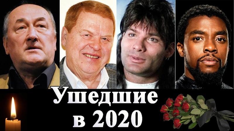 Знаменитости ушедшие в 2020 Клюев Коби Брайант Чедвик Боузман и др