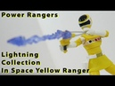 Review Power Rangers Lightning Collection In Space Yellow