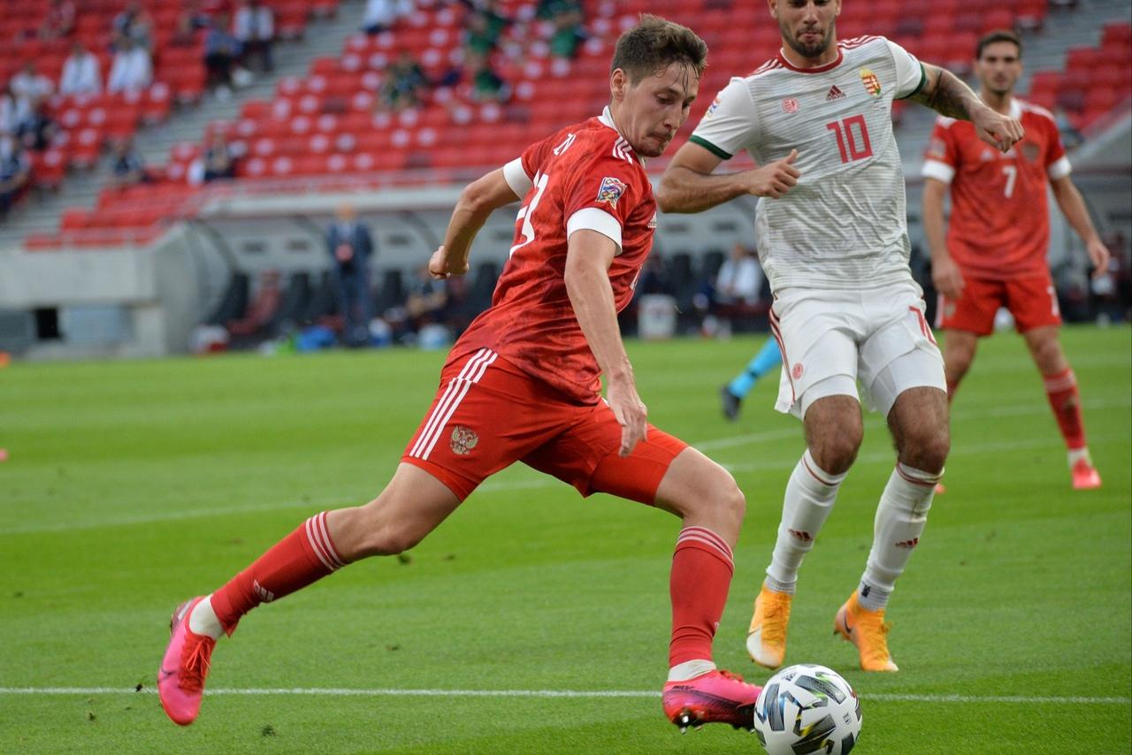 Венгрия - Россия, 2:3. Лига Наций