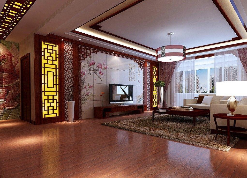 Asian tile entry design