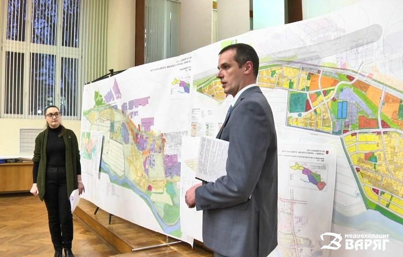 В Пинске презентовали детальный план Юго-Западного жилого района. Горожане хотят «западный обход»