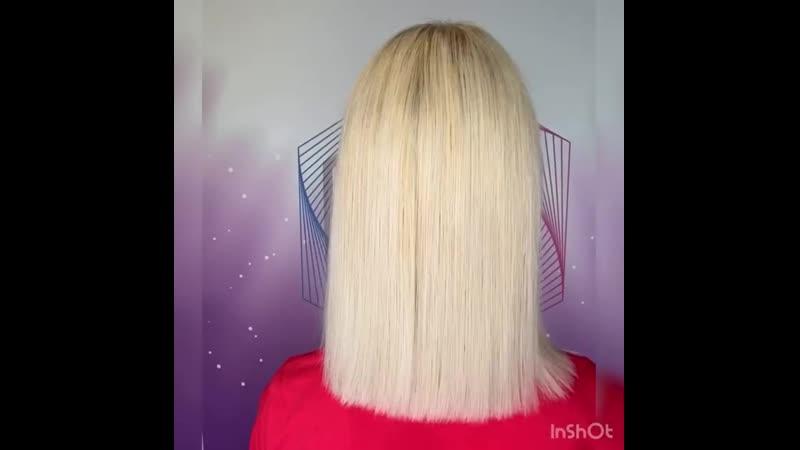 Двойное восстановление и питание волос І Работа мастера из Эстонии І JKeratin