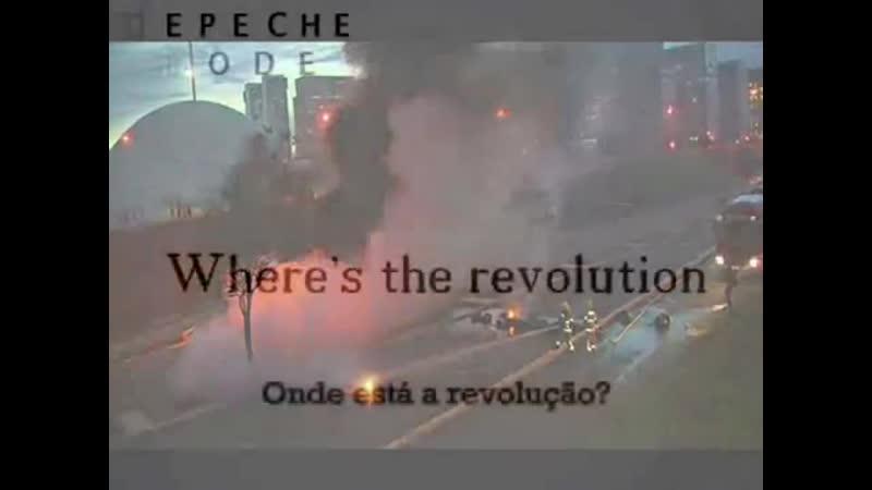 Depeche Mode Where`s the Revolution