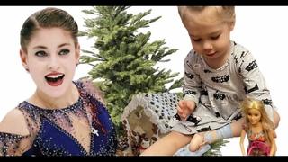 влог Евы и Фло | Подарки и пряничный домик с Аленой Косторной | чем занять детей в зимние дни