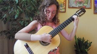 "J. Rodrigo. 1st Cadenza from II part of ""Aranjuez"""