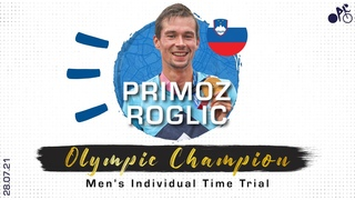 Primoz Roglic bounces back to claim gold in the Men's ITT | Tokyo 2020 Olympics