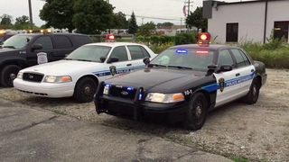 Henry Ford Health System Police Authority Crown Victoria Lighting Demo