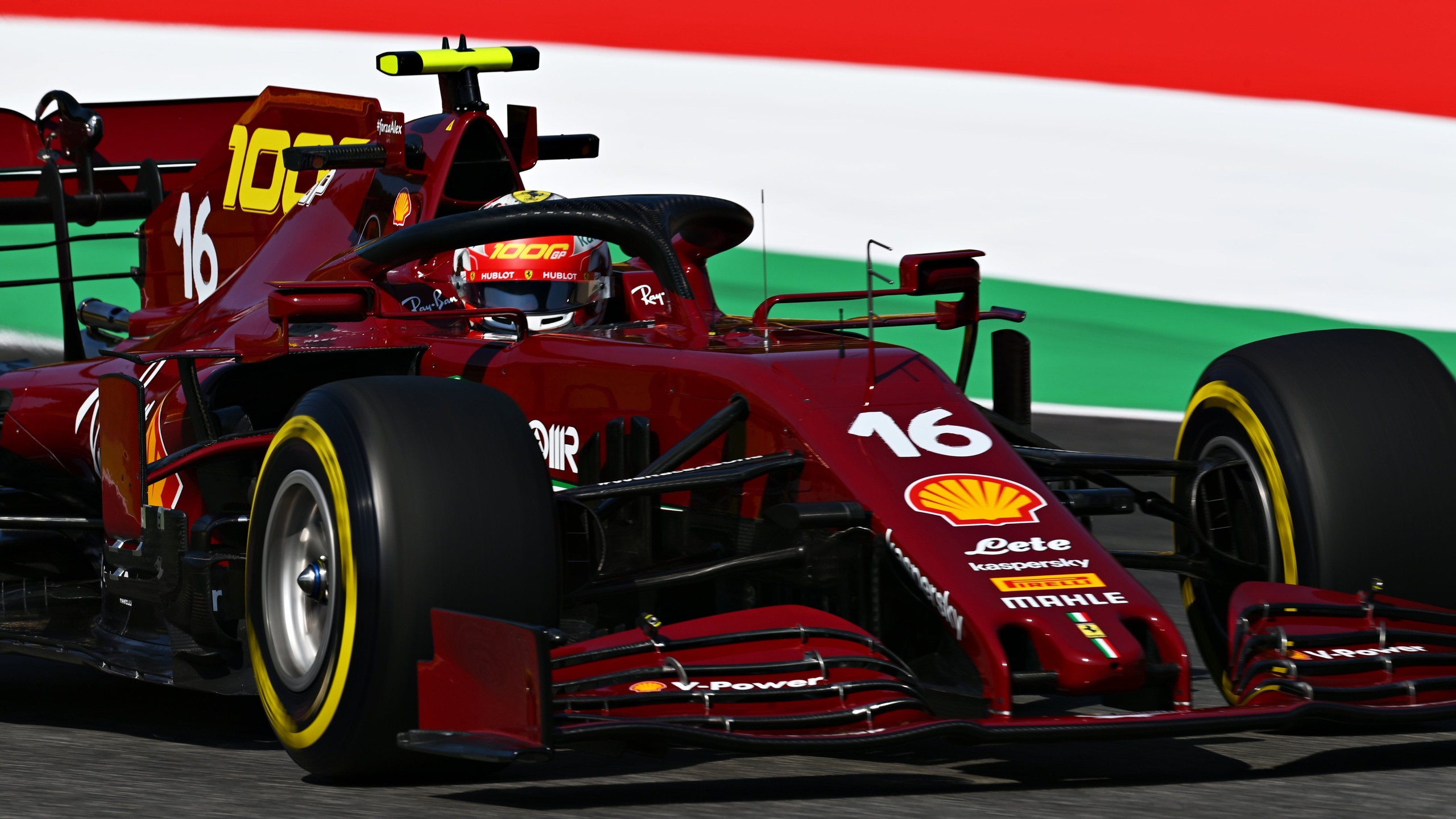 Шарль Леклер стал лучшим пилотом Ferrari на гран-при Тосканы 2020 года