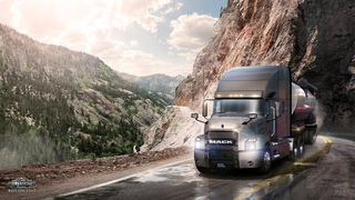 American Truck Simulator: Colorado - Million Dollar Highway Gameplay (4K)