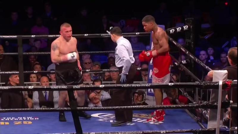Тренер напоминает боксёру про его кумира Майка Тайсона и тот выиграл бой