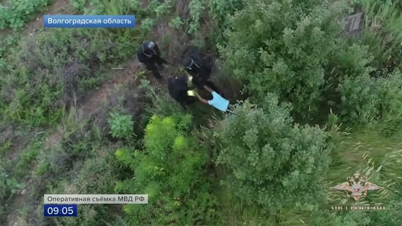 В Волгоградской области удалось задержать банду грабителей