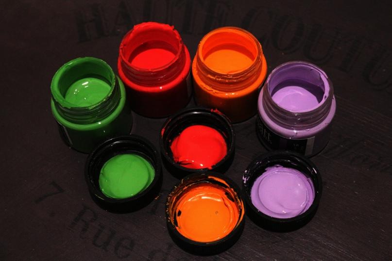 Как ухаживать за акриловыми красками. Новогодняя версия, изображение №3