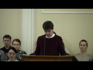 """Луковцев Максим - Искуситель сказал """"Если Ты Сын Божий..."""""""