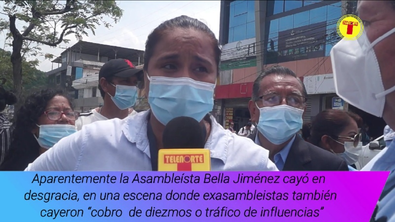 ASAMBLEÍSTA BELLA JIMÉNEZ APARENTEMENTE CAYÓ EN LAS MISMAS PRÁCTICAS DE CORRUPCIÓN